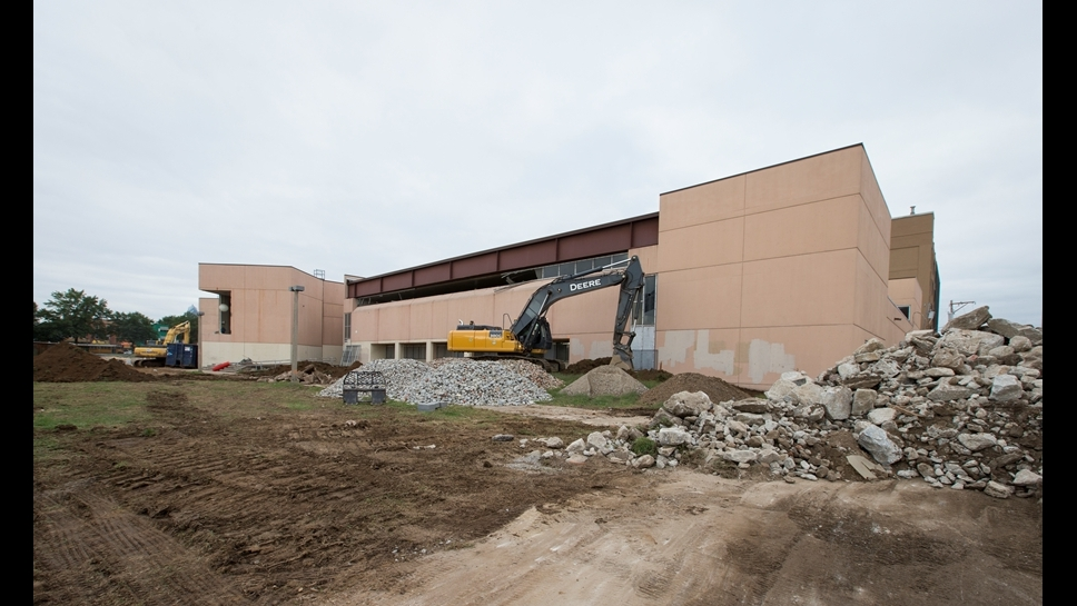 Demolition of William Penn High School
