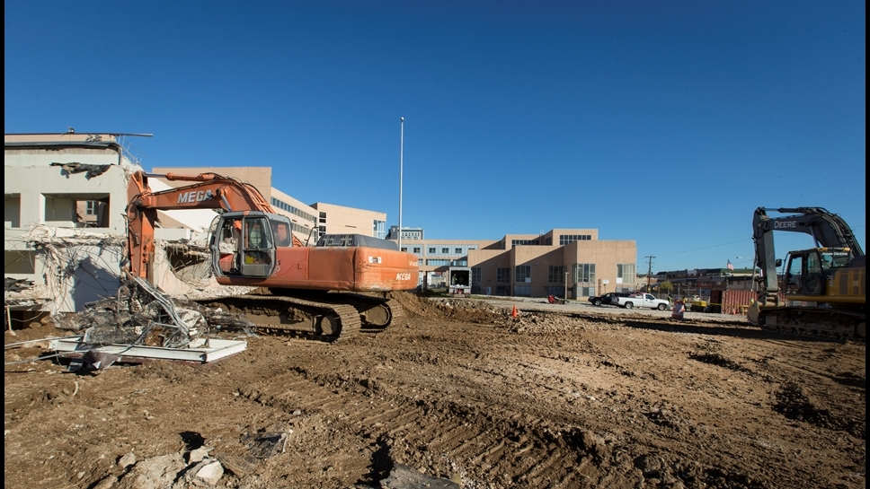 William Penn High School Demolition as of 10-30-15