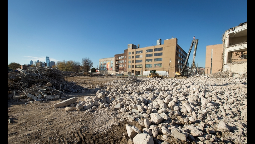 William Penn High School Demolition as of 12-1-15