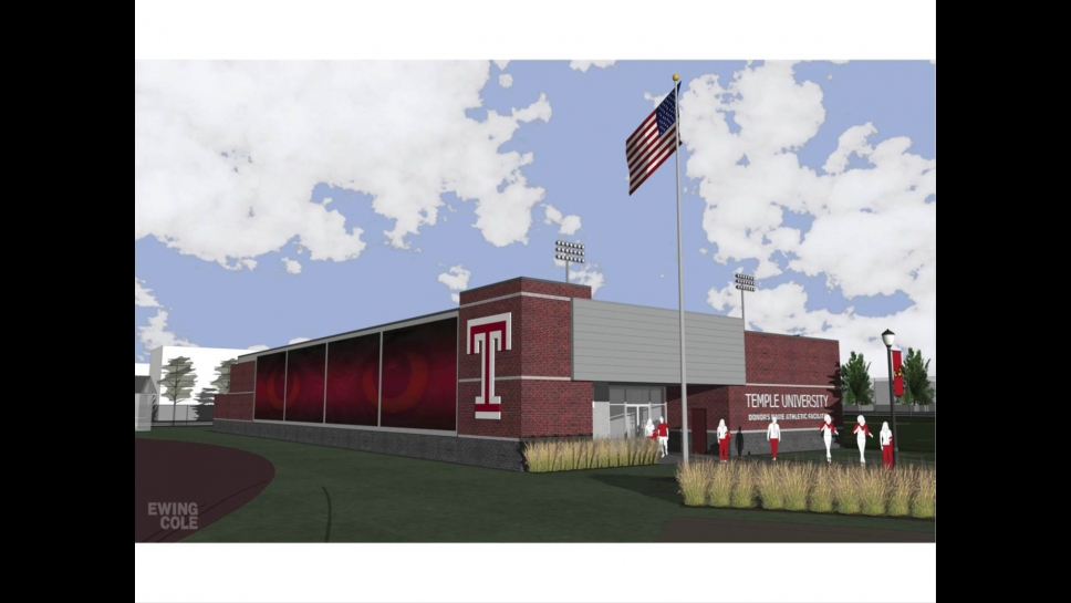 Rendering of Temple Sports Complex facility