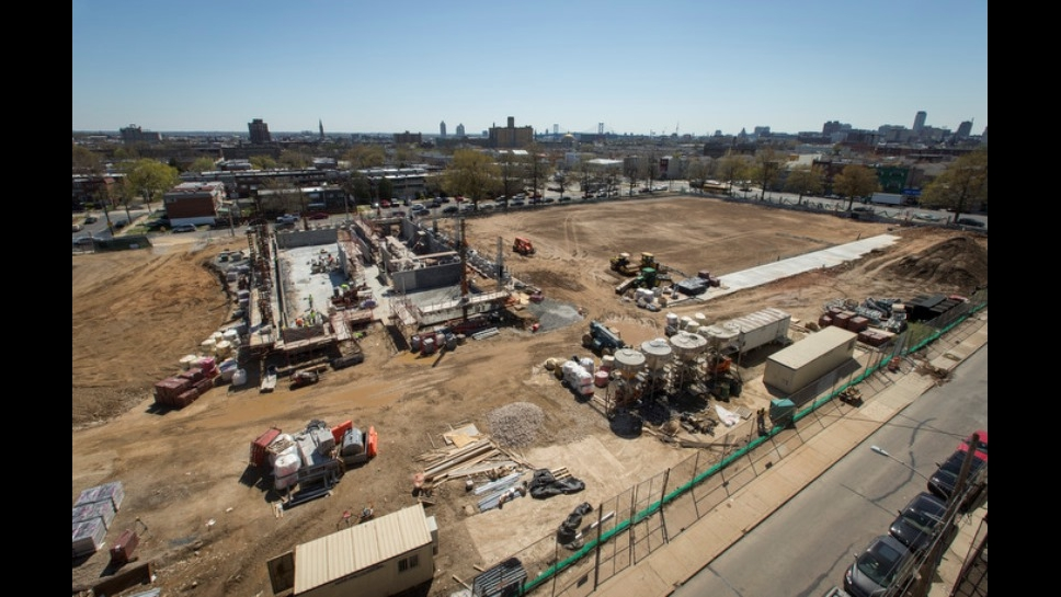 William Penn High School Site Development as of 4-14-16