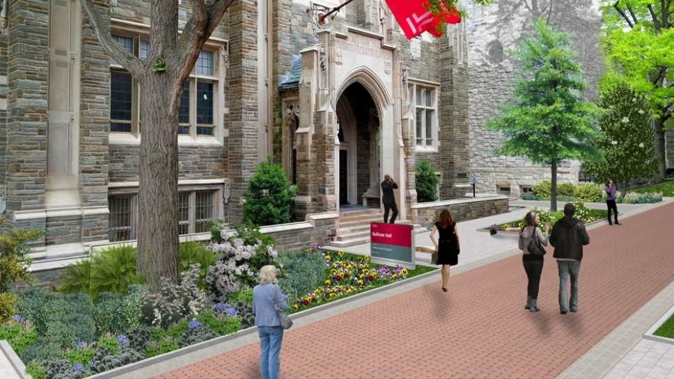 Rendering of Polett Walk