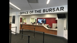 Renovated Office of the Bursar at Carnell Hall