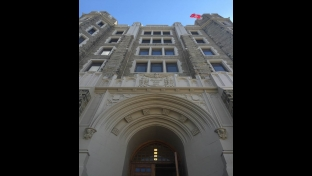 Conwell Hall exterior facade after upgrade
